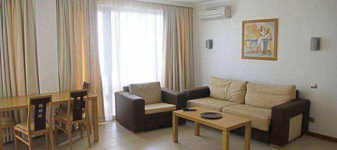 Трёхкомнатные апартаменты Emerald Resort, Несебр, Болгария