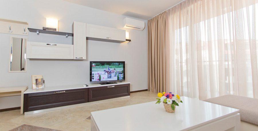 Трехкомнатный апартамент, Galeon Residence & SPA, Солнечный берег
